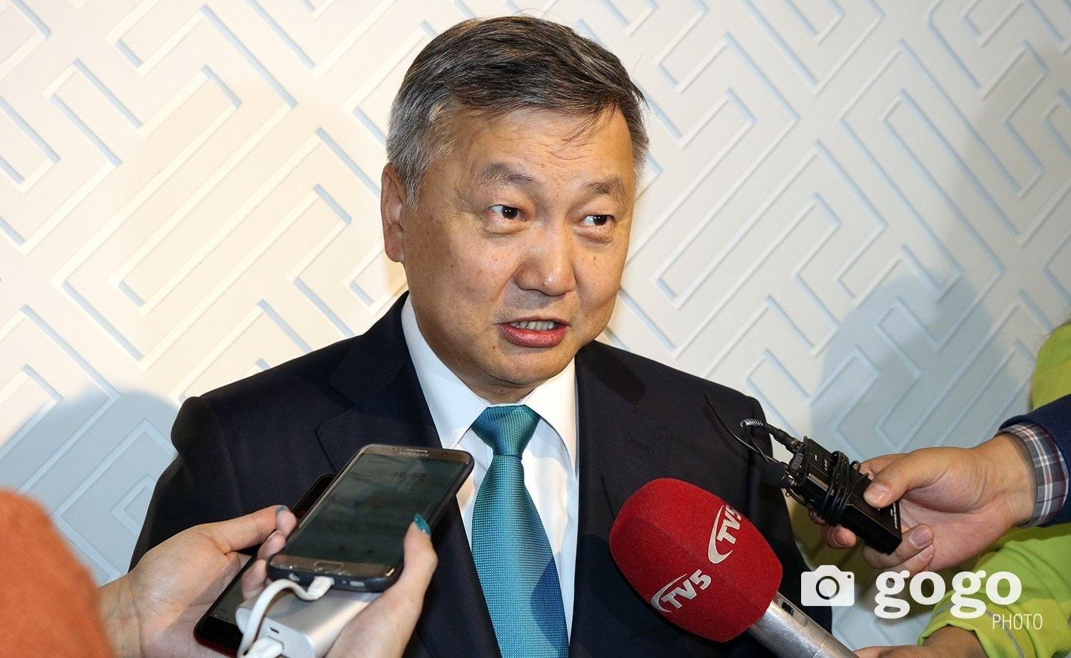 Z.Enkhbold, Chief of the Office of the President of Mongolia